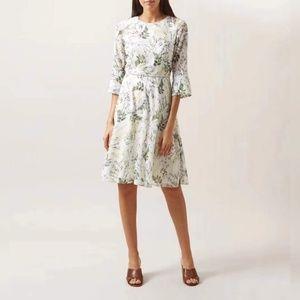 new hobbs viriginia floral dress